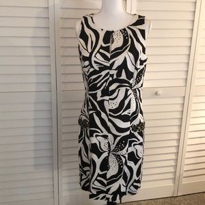 Lily Pulitzer black and white dress